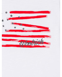 T-shirt con stelle bianca