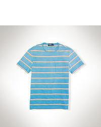 T-shirt girocollo acqua