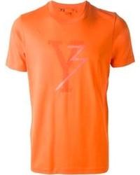 T-shirt girocollo arancione