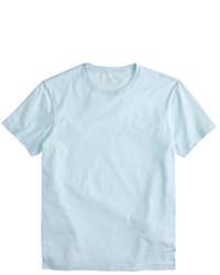 T-shirt girocollo azzurra