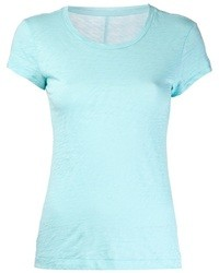 T-shirt girocollo azzurra di Rag and Bone