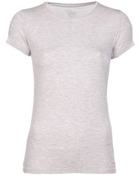 T-shirt girocollo beige