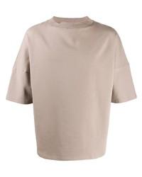 T-shirt girocollo beige di Alchemy