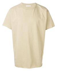 T-shirt girocollo beige di John Elliott