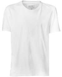 T-shirt girocollo bianca