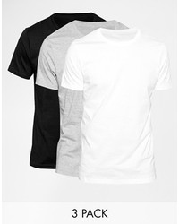 T-shirt girocollo bianca di Asos