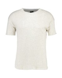 T-shirt girocollo bianca di Black Kaviar