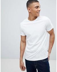 T-shirt girocollo bianca di Burton Menswear