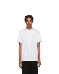 T-shirt girocollo bianca di CARHARTT WORK IN PROGRESS