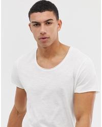 T-shirt girocollo bianca di Jack & Jones