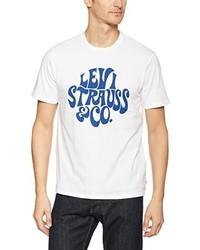 T-shirt girocollo bianca di Levi's