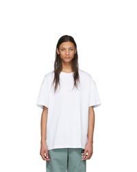 T-shirt girocollo bianca di Maison Margiela
