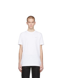 T-shirt girocollo bianca di Off-White
