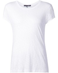 T-shirt girocollo bianca di Rag and Bone