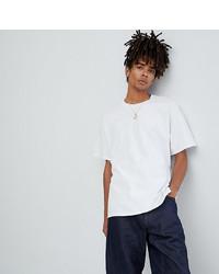 T-shirt girocollo bianca di Reclaimed Vintage