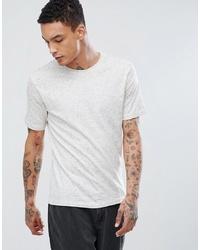 T-shirt girocollo bianca di troy