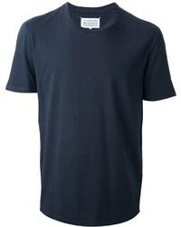 T-shirt girocollo blu scuro