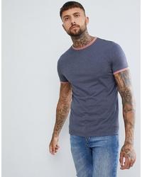 T-shirt girocollo blu scuro di ASOS DESIGN