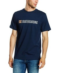 T-shirt girocollo blu scuro di DC Shoes