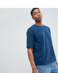 T-shirt girocollo blu scuro di Noak