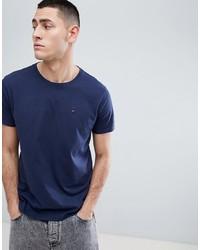 T-shirt girocollo blu scuro di Tommy Jeans
