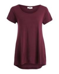 T-shirt girocollo bordeaux di Zalando Essentials