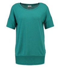 T-shirt girocollo foglia di tè di Noisy May
