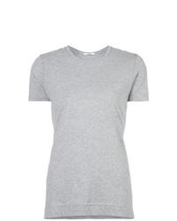T-shirt girocollo grigia di Adam Lippes