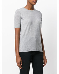 T-shirt girocollo grigia di Joseph