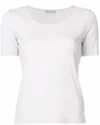 T-shirt girocollo grigia di Le Tricot Perugia