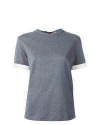 T-shirt girocollo grigia di Marni