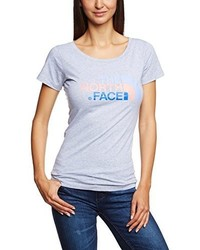T-shirt girocollo grigia di The North Face