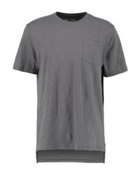 T-shirt girocollo grigia di YOURTURN