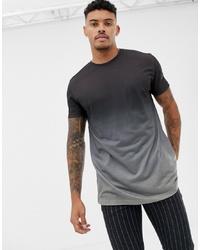 T-shirt girocollo grigio scuro di ASOS DESIGN