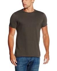 T-shirt girocollo grigio scuro di Fruit of the Loom
