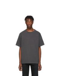 T-shirt girocollo grigio scuro di John Elliott