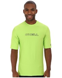 T-shirt girocollo lime