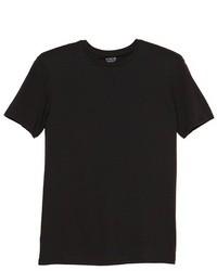 T-shirt girocollo nera