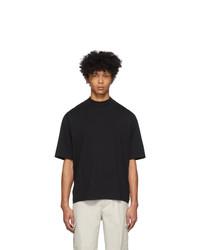 T-shirt girocollo nera di Acne Studios