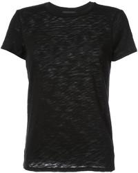 T-shirt girocollo nera di ATM Anthony Thomas Melillo