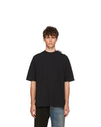 T-shirt girocollo nera di Balenciaga