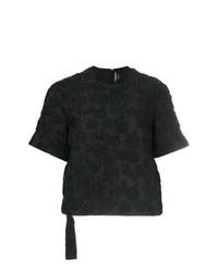 T-shirt girocollo nera di Calvin Klein 205W39nyc
