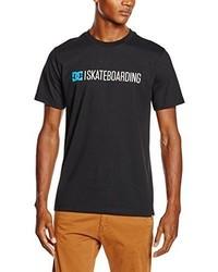 T-shirt girocollo nera di DC Shoes