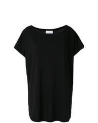 T-shirt girocollo nera di Faith Connexion