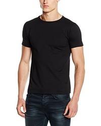 T-shirt girocollo nera di Fruit of the Loom
