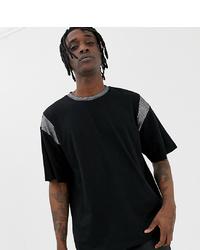 T-shirt girocollo nera di Heart & Dagger