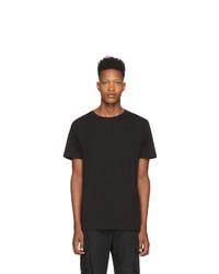 T-shirt girocollo nera di John Elliott
