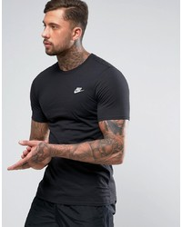 T-shirt girocollo nera di Nike