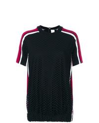 T-shirt girocollo nera di NO KA 'OI