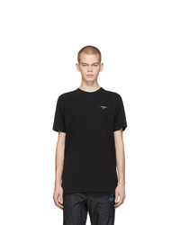T-shirt girocollo nera di Off-White